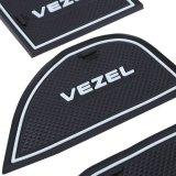 19Pcs Auto Car Accessories Interior Door Rubber Non Slip Cup Mat Holder Gate Slot Pad For Honda Vezel Intl China