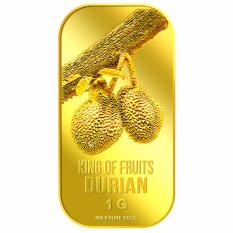 List Price Puregold 1G Durian Gold Bar 999 9 Puregold