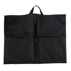 1pc Black Dustproof Hanger Coat Clothes Garment Suit Cover Storage Bags By Welcomehome.