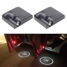 Who Sells 2 Pcs Led Ghost Shadow Light Car Door Led Laser Welcome Decorative Light Display Logo For Hyundai Car Brand Black Intl Cheap