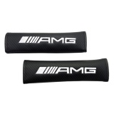 Cheapest 2 Pcs Set Car Styling Carbon Fibre Safety Belt Cover Seat Shoulder Pad Accessories For Amg Intl Online