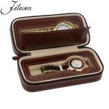 Buy 2 Slot Travel Watch Box Superior Pu Leather Storage Case Display Organizer Gift Brown Intl Online