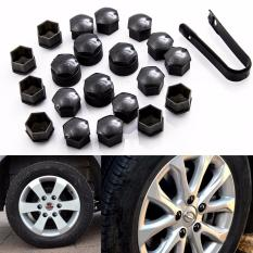 20 Pcs Wheel Nut Caps Bolt Covers Audi Vw Vauxhall Bmw Mercedes 17mm By Wripples.