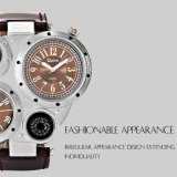 Buy 2016 High Quality Oulm 9415 Men S Outdoor Sports Compassn Watch Brown