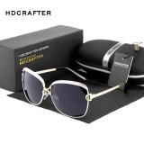 Hdcrafter 2017 Star Style Luxury Women Sunglasses Elegant Female Polarized Lens Brand Designer Sun Glasses With Case Wholesale E016 Cheap