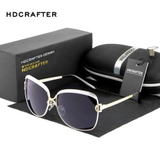 Discounted Hdcrafter 2017 Star Style Luxury Women Sunglasses Elegant Female Polarized Lens Brand Designer Sun Glasses With Case Wholesale E016