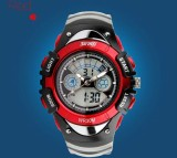 Price 2017 New Fashion Children Watch Sports Watches 2 Time Digital Quartz Chronograph Jelly Silicone Student Swim Dive Wristwatches Intl On China