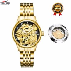 New 2017 New Popular Women Watches Skeleton Phoenix Mechanical Watch Ladies Wristwatches Automatic Winding Waterproof Tevise Automatico Montre Femme 9006 Intl