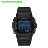 Buy 2017 New Sanda Digital Watch Men Waterproof Led Men S Watch Sports Mens Watches Top Brand Military Reloj Hombre Erkek Kol Saati 329 Intl Online China