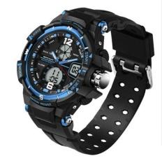 Best 2017 New Sanda Fashion Led Digital Display Date Alarm Men Wristwatches Stopwatch Waterproof Sports Watches 289 Intl