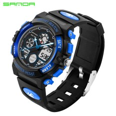 Purchase 2017 Sanda Brand Fashion Children Sports Watches Led Digital Quartz Military Watch Boy G*rl Student Multifunctional Wristwatches Intl Online