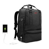 2018 Tigernu New Splash Proof Laptop Backpack With Usb Charging For 12 15 6 Laptop Intl For Sale