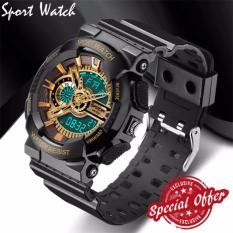 Price Comparisons Of 2018 New Fashion Watch Men G Style Waterproof Sports Military Watches S Shock Digital Watch Men Black And Gold