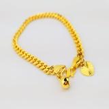 Where To Shop For 24K Gold Korea Plated High Quality Premium Bracelet Bangle Rt001 Gift For Women Girls Fashion Jewelry Korean Style Long Lasting Intl