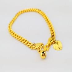 Price 24K Gold Korea Plated High Quality Premium Bracelet Bangle Rt001 Gift For Women Girls Fashion Jewelry Korean Style Long Lasting Intl Oem Online