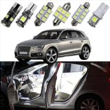Price 27Pc Led Bulb Interior Dome Map Trunk Vanity Mirror Door Footweel Glove Box Lights Package Kit For Audi Q5 2010 2013 Car Stying Intl Oem New