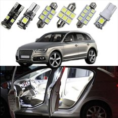 Discount 27Pc Led Bulb Interior Dome Map Trunk Vanity Mirror Door Footweel Glove Box Lights Package Kit For Audi Q5 2010 2013 Car Stying Intl Oem China