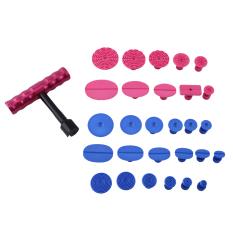 Low Cost 29Pcs Paintless Dent Repair T Bar Puller Slide Hammer Glue Tabs Pdr Tools Intl