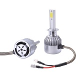 Top Rated 2Pcs 10000Lm 55W Led Headlight H1 Car Driving Light Lamp Bulb 6000K White Ld972 Intl