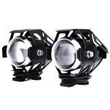 2Pcs 125W 3000Lm U5 Led Transform Spotlight Motorcycle Headlight Fog Lamp Intl On China