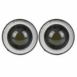 2Pcs 3 Fog Lights Blue Cob Led Angel Eyes Replacement For Car Suv Truck Intl Best Buy