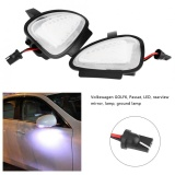 Cheapest 2Pcs Auto Car Led Side Under Mirror Lamp Puddle Light For Volkswagen Golf 6 09 12 Touran Intl Online