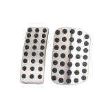 Low Price 2Pcs Gas Brake Pedal Fuel Pedal Acessories For Mercedes Benz Cla Gla W176 W245 Intl