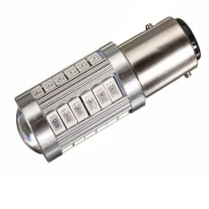 Best Buy 2Pcs High Quality 1157 Bay15D P21 5W 33 Smd 5730 Car Led Turn Signal Lights Brake Tail Lamps Auto Rear Reverse Bulbs Orange Intl
