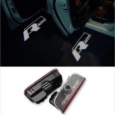 2Pcs Led Car Door Lamp Welcome Shadow Laser Logo Light For Vw Touareg Tiguan Magotan Golf Eos Sharan Sagitar Passat Scirocco Intl Discount Code