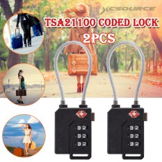 Store 2Pcs Tsa Security Combination Travel Suitcase Luggage Bag Code Lock Padlock 3 Digits Wire Lock Black Xcsource On Hong Kong Sar China