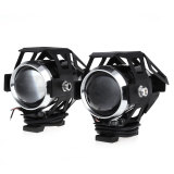 Buy 2Pcs U5 3000Lm 125W Upper Low Beam Motorcycle Headlight Led Spot Lamp Black Oem Original
