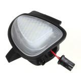 Cheap 2Pcs White Under Side Mirror Puddle 6 Led Light Lamp For Vw Golf Gti Mk6 Mk Vi