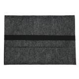 Buying 2Pcs Woolen Felt Envelope Laptop Sleeve Bag Case Cover For Apple Macbook Pro 15 15 4Inch Dark Gray Intl