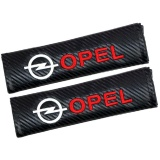 Price Comparison For 2Pcs Set Universal Cotton Seat Belt Shoulder Pads Covers Emblems For Opel Astra H G Insignia Mokka Opc Badges Auto Accessories Car Styling Fit All Cars Intl