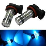 2X H8 H11 100W 20Led Hid 2323 Fog Driving Drl Light Bulbs Intl Shopping
