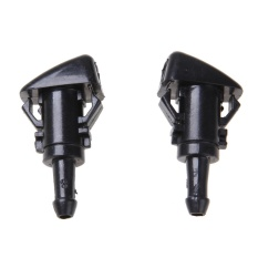2x Windshield Washer Wiper Water Spray Nozzle For Chrysler300 Dodge Charger - Intl By Crystalawaking.
