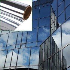 Price Comparison For 30 X 7Ft 15 Mirror Silver Solar Reflective Window Film One Way Privacy Sticker Intl