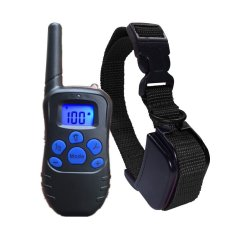 Compare Prices For 300M Waterproof Rechargeable Lcd Electric Shock Pet Dog Training Collar With Remote E Collar Anti Bark For 1 2 Dog