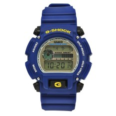 Price Casio G Shock Men S Blue Resin Strap Watch Dw 9052 2V Intl Casio G Shock Original