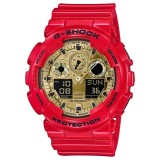 Casio G Shock Men S Red Resin Strap Watch Ga 100Vla 4A Limited Edition Chinese New Year Intl For Sale Online