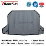 How To Buy High Quality Honda Hrv 2015 16 17 18 3D Waterproof Car Bootliner Boot Tray Cargo Tray Trunk Mat