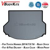 Best Deal High Quality Toyota Harrier 2014 18 3D Waterproof Car Bootliner Boot Tray Cargo Tray Trunk Mat