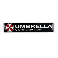 3D Car Stickers Square Car Styling Umbrella corporation Resident Evil decals Auto Decoration - intl