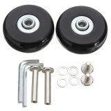 Lowest Price 4 Sets Luggage Suitcase Replacement Wheels Repair Od 50Mm Axles Deluxe Repair Intl