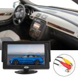 Best Buy 4 3 Inch High Quality Car Rear View Monitor Pocket Size Color Tft Lcd Display 480 X 272 2 Channel Input