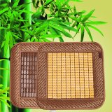 Buy 45X45Cm Breathable Natural Bamboo Sitting Cushion Mat Cool Car Chair Seat Sofa Cover Slipcover Pad Summer Yellow Intl Oem