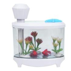 Buy 460Ml Diffuser Air Humidifier Usb Spray Led Night Light Fish Tank Decoration White Intl Vakind Cheap