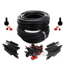 Discount 46M Micro Drip Irrigation Self Watering System Kit Set Drippers For Plant Garden Oem
