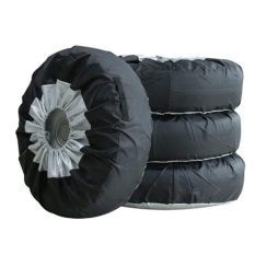 Get The Best Price For 4Pcs Seasonal Wheel Tire Protector Covers For 13 20 Tires Car Van Suv Black S Intl