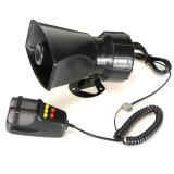 50W 12V Car Truck Speaker Loud Siren Horn Ambulance Police Alarm 105Db With Mic Free Shipping